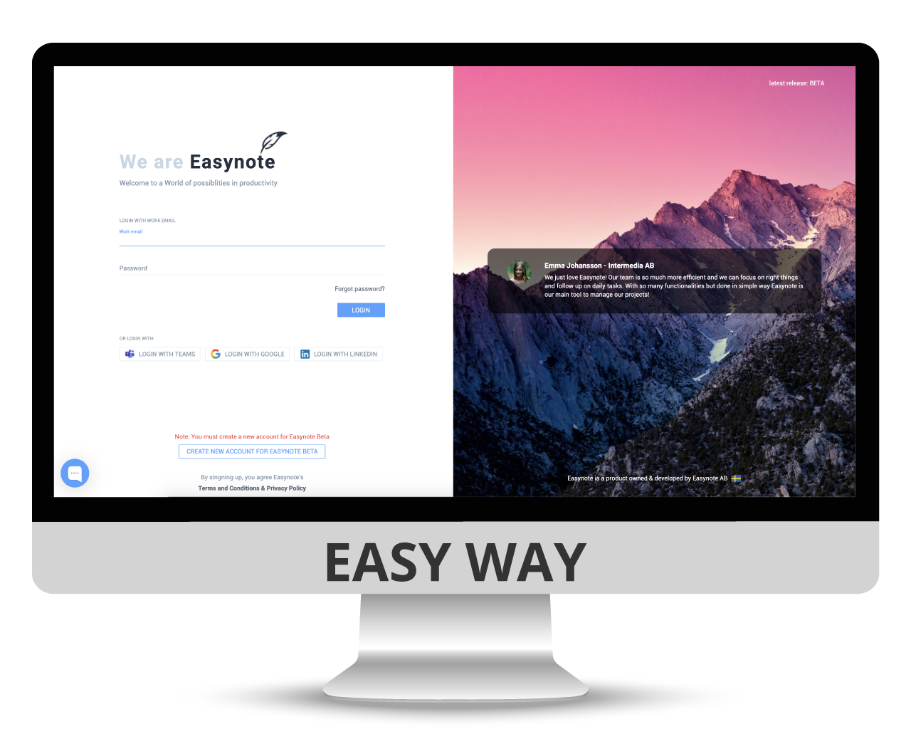 manage easynote